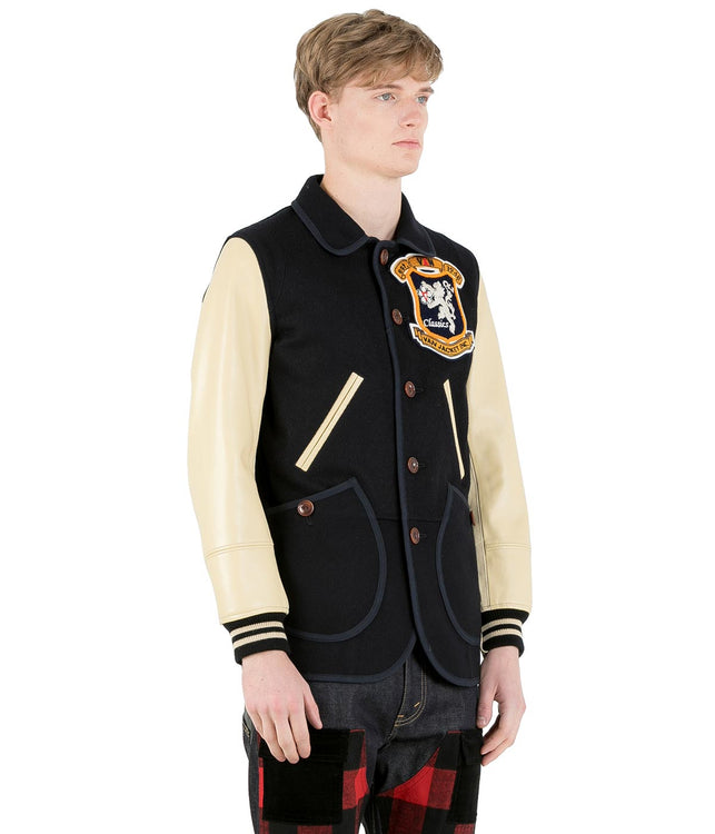 Navy 'Van' Jacket