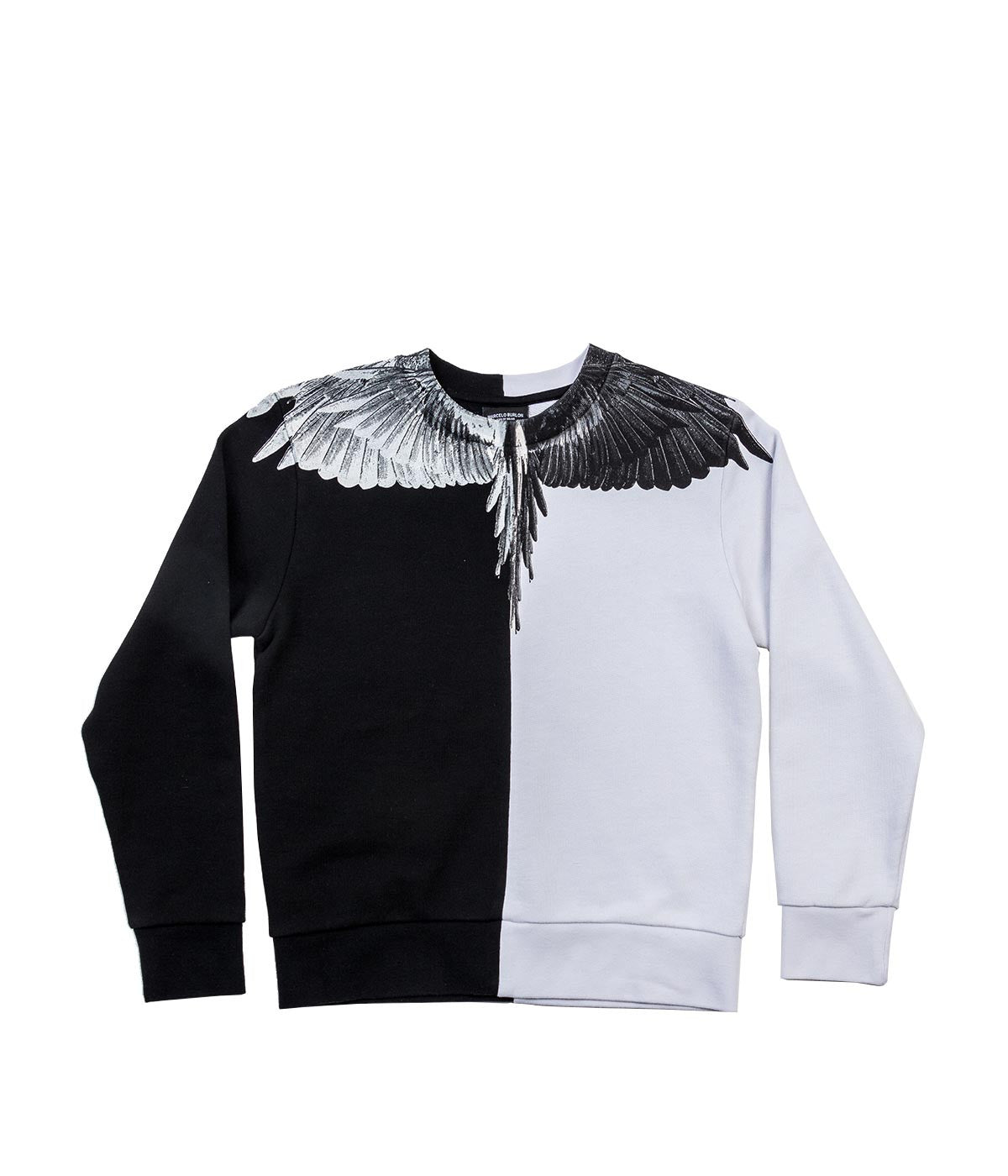 Black & White Pullover Sweatshirt