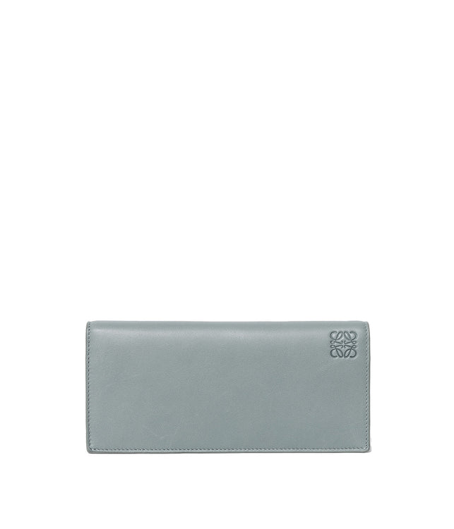 Cloud & Navy Long Horizontal Wallet