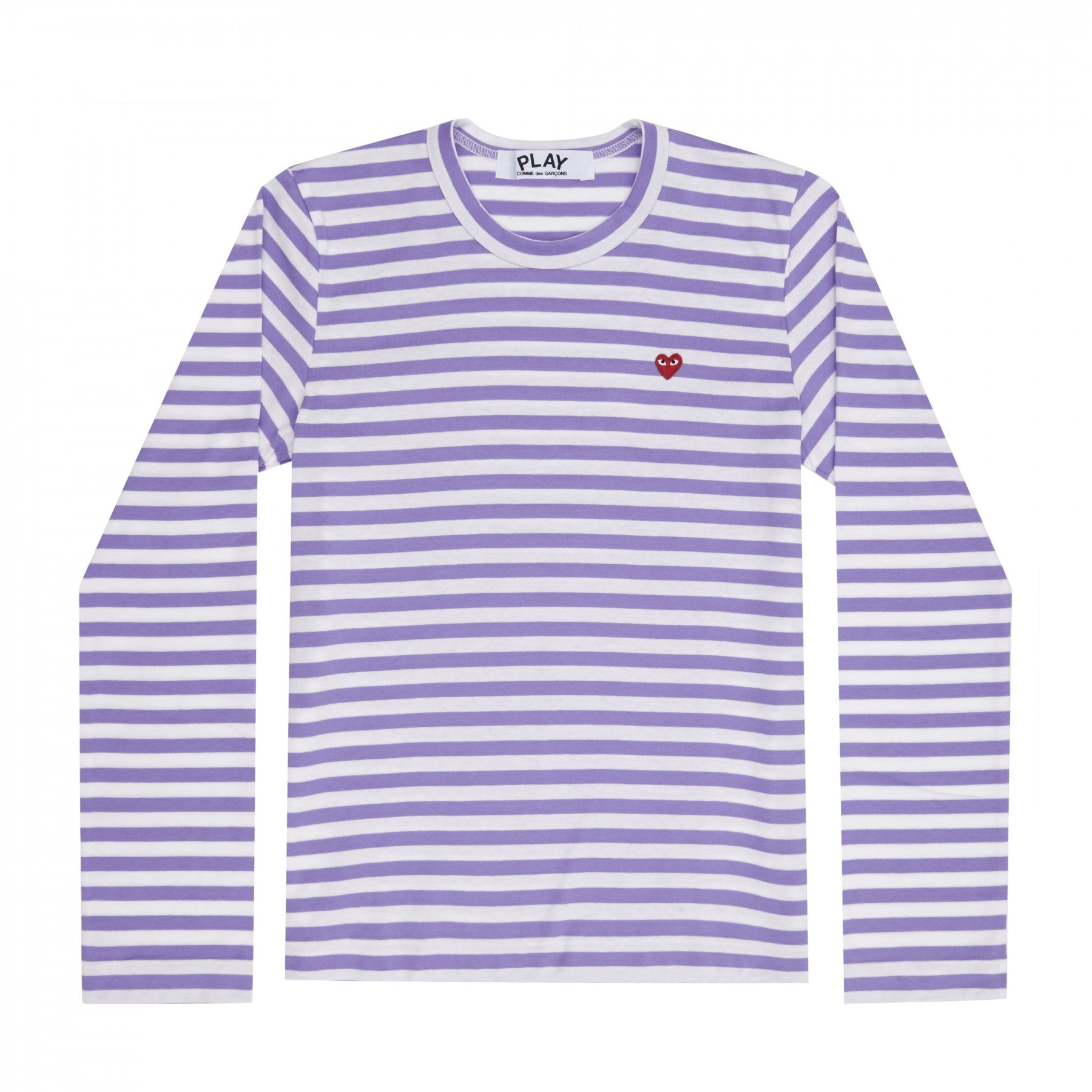 Pink & White Striped T-shirt