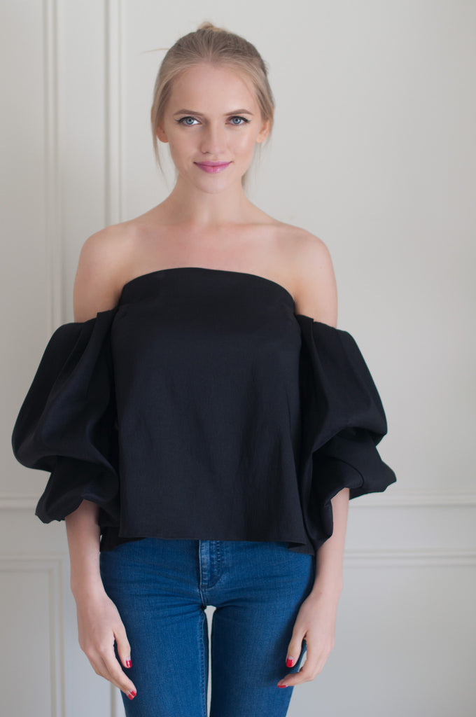 Circus Royalty Cold Shoulder Off The Shoulder Top