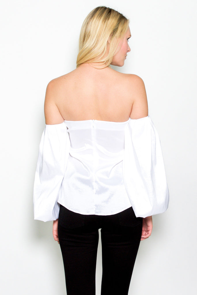 Niki Top - White