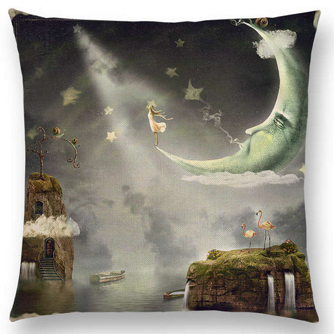 'Fantasy Fable' Pillow Covers