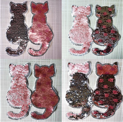 Reversible Cat Patches