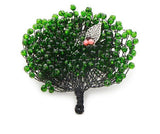 Round Whispers Tree Brooch