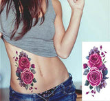 "''Flattering Flowers"" Temp Tattoo"
