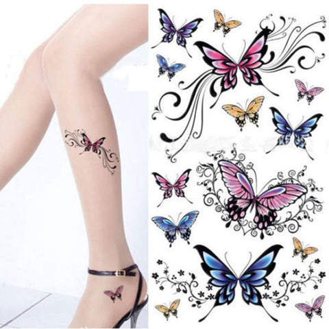 The Butterfly Collection Temporary Tattoo