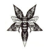 Honey Bee Brief Tattoo