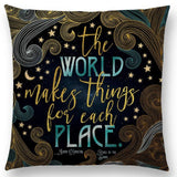 ''Empowering Quote'' Pillow Covers
