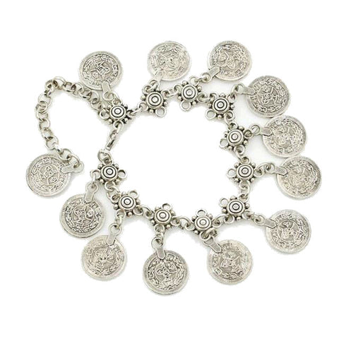 Anklet with Coins