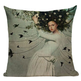 """Crystalline Stories"" Pillow Covers"