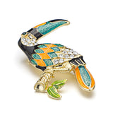 Toucan Bird Brooch