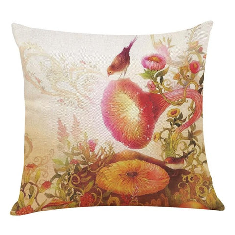 ''Nature Speaks'' Pillow Covers