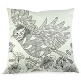 """Owl by Color"" Pillow Covers"