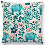 ''Zoo A. Gardens'' Pillow Covers