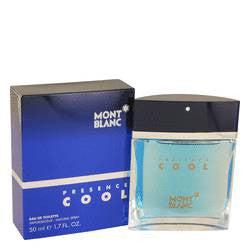 Presence Cool Eau De Toilette Spray By Mont Blanc
