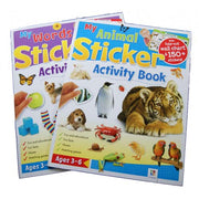 My Animal / My Words Sticker Activity Books