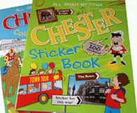 Chester Colouring Book / Chester Sticker Book