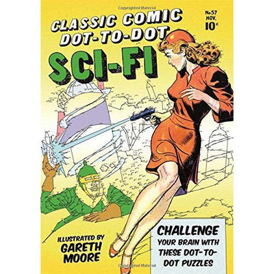 Classic Commic Dot-to-Dot:  Sci-Fi