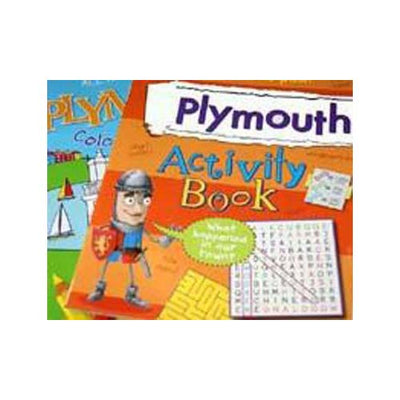 Plymouth Activity Book / Plymouth Colouring Book