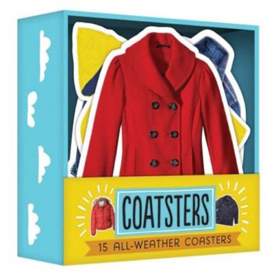 Coatsters - 15 Coasters with Cocktail Recipes