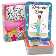 52 Slumber Party Activities (Cards)