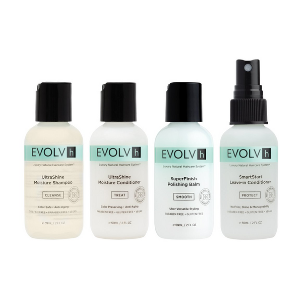Evolvh Hair Care, Discovery Kit, Natural Hair Product, Vossity, Canada