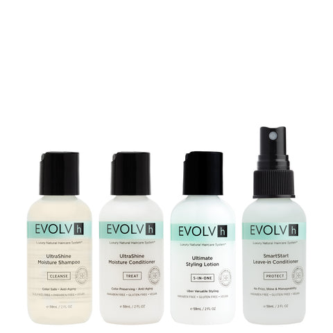 Evolvh Hair Care, Natural Hair Care, Discovery Kit, Vossity, Canada