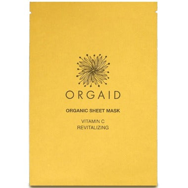 Vitamin C & Revitalizing Organic Sheet Mask