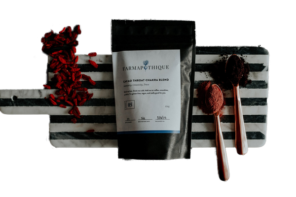 Cacao Throat Chakra Blend