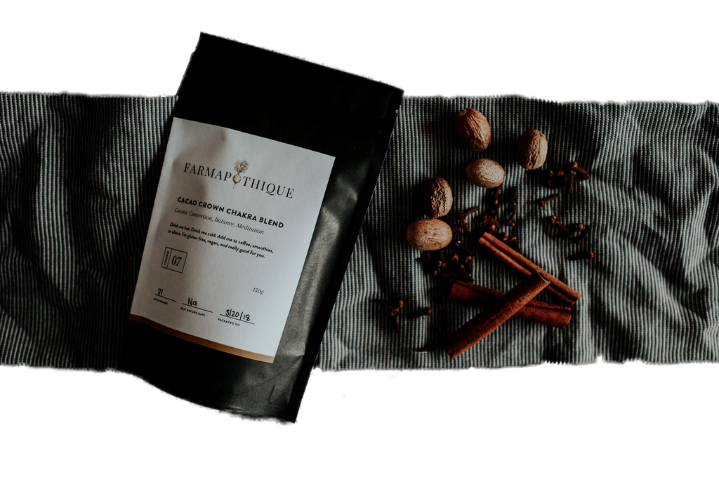Cacao Crown Chakra Blend
