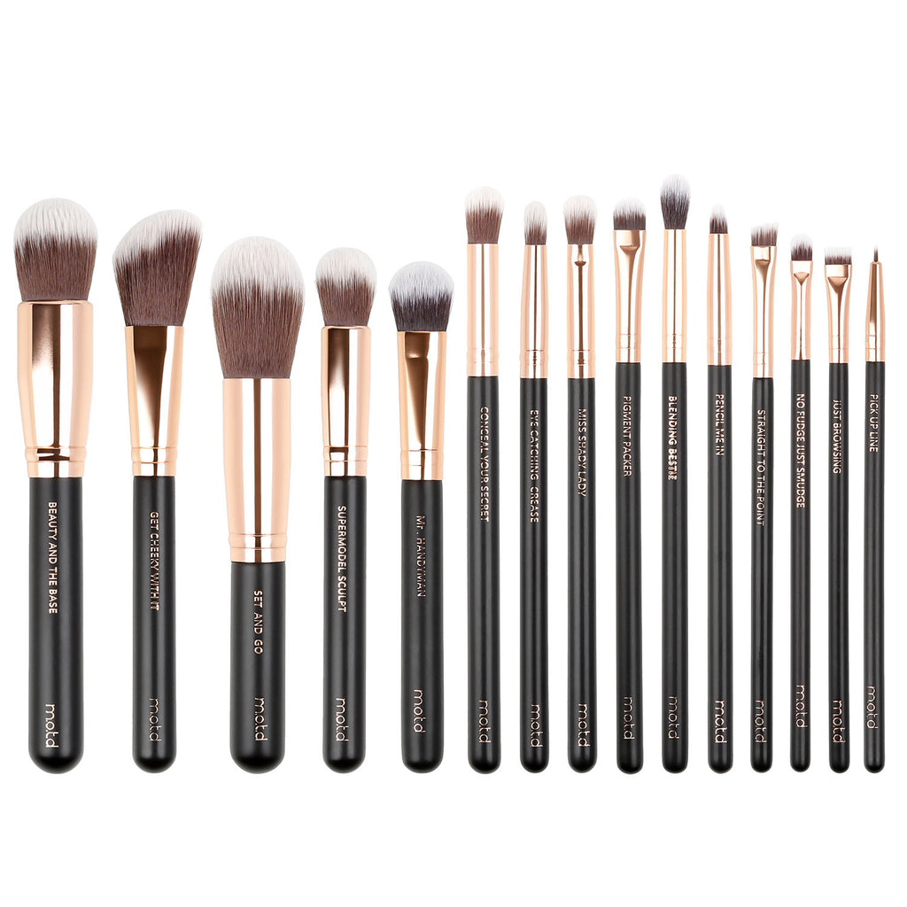 Lux Vegan Makeup Brush Set