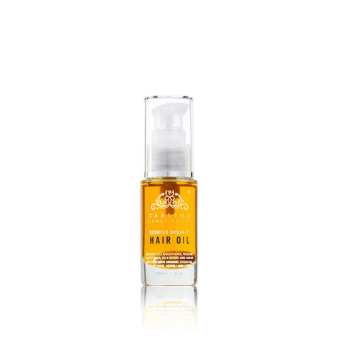 Scented Organic Hair Oil