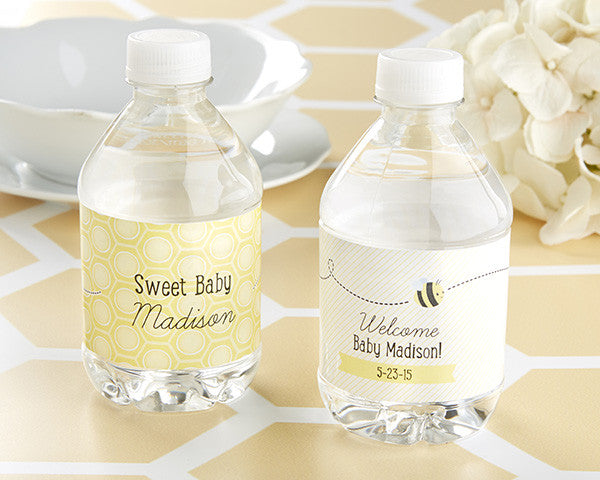 "Kate's ""Sweet as can Bee"" Personalized Water Label"