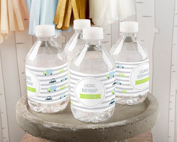 Personalized Water Bottle Labels - Precious Cargo