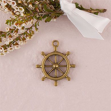 Boat Wheel Charm (12 Pieces)