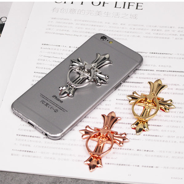 cross cell phone stand
