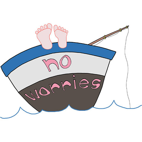The No worries Illustration Designs - a tad and more