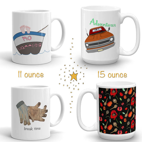 a tad and more mugs