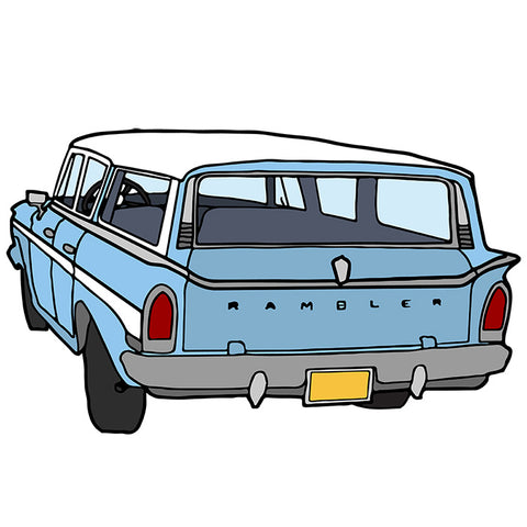 The Rambler Station Wagon Illustration - a tad and more