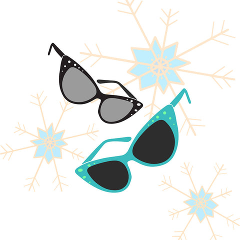 The Sunglasses Illustrations Design - a tad and more