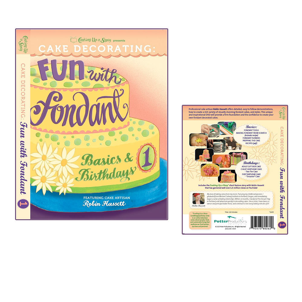 Cake Decorating: Fun With Fondant (dvd) - a tad and more