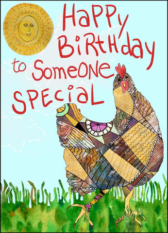Happy Birthday Card - To Someone Special - A TAD AND MORE Designs-Cooking Up a Story product line