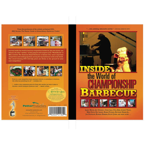 Inside the World of Championship Barbecue - DVDs - DVDs - A TAD AND MORE Designs -The Cooking Up a Story product line