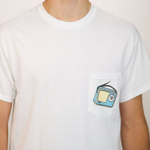 Transistor Radio - Pocket T-Shirts - A TAD AND MORE - Cooking Up a Story