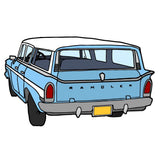 Rambler Station Wagon - T-Shirts - Short Sleeve T-Shirts - A TAD AND MORE Designs -The Cooking Up a Story product line
