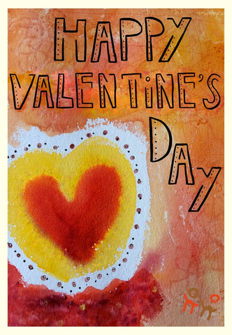 Valentine's Day Card - Happy Valentine's Day - A TAD AND MORE - Cooking Up a Story
