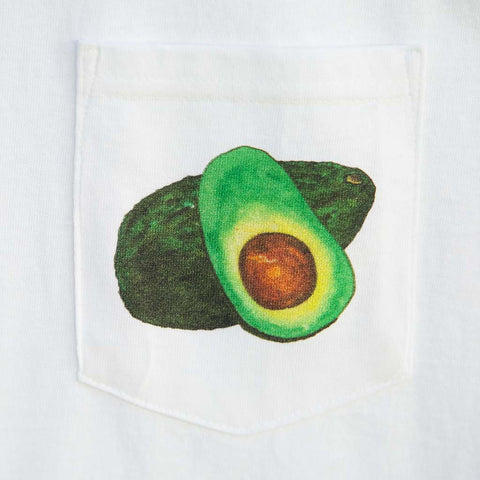 Avocado- Pocket T's - Pocket T-Shirts - A TAD AND MORE Designs -The Cooking Up a Story product line