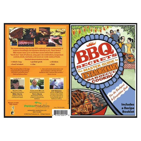 BBQ Secrets: The Master Guide to Extraordinary Cookin' (dvd) - a tad and more