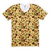 Acorns - Women's All-Over Tops - Women's All-Over Tops - A TAD AND MORE Designs -The Cooking Up a Story product line